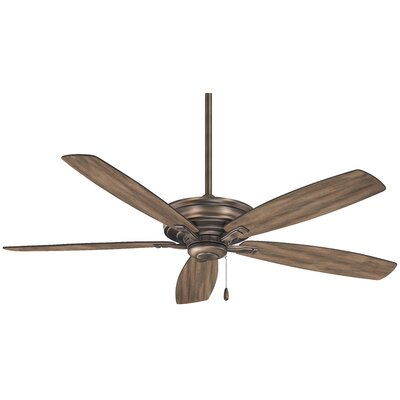 52 Kafe 5 Blade Ceiling Fan Finish: Bronze