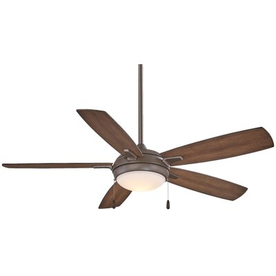 54 Lun-Aire LED 5 Blade Ceiling Fan Finish: Oil Rubbed Bronze