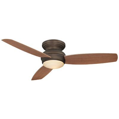 52 Concept? LED 3-Blade Outdoor Ceiling Fan Finish: Oil Rubbed Bronze
