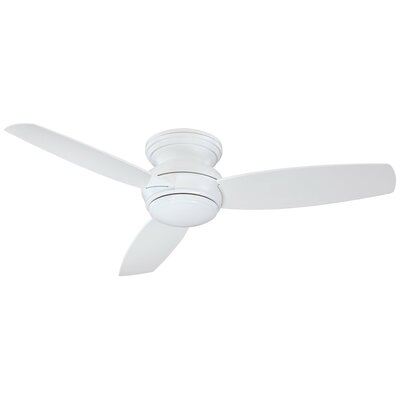 52 Concept? LED 3-Blade Outdoor Ceiling Fan Finish: White