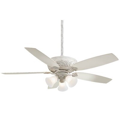 52 Classica 5 Blade Gallery Edition Provencal Blanc LED Ceiling Fan with Remote