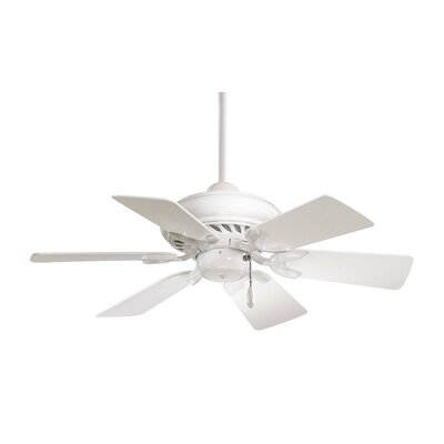 32 Supra 6-Blade Ceiling Fan Finish: White