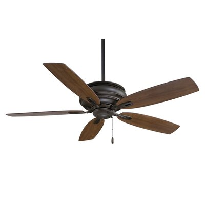 54 Timeless 5-Blade Ceiling Fan Finish: Oil Rubbed Bronze with Maple Blades
