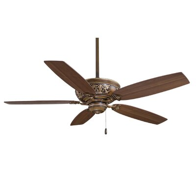 54 Classica 5-Blade Ceiling Fan Finish: Belcaro Walnut�