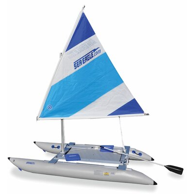 Buy Low Price Sea Eagle Sail Cat Deluxe Inflatable Boat (14SCK_CK)