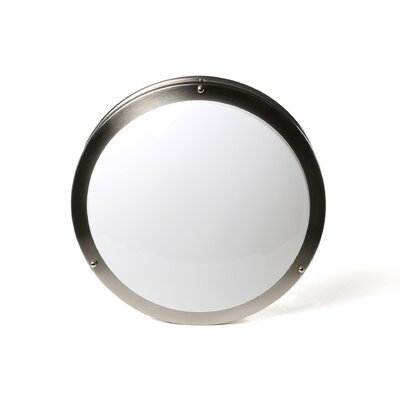 1-Light Round Flush Mount Size: 4 H x 16.25 D