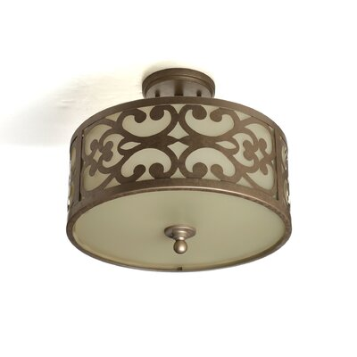 Concetta 3-Light Semi Flush Mount
