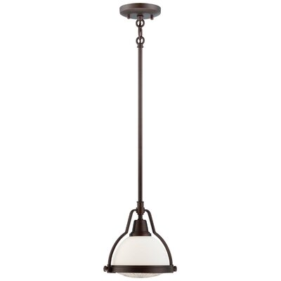 1-Light Pendant Finish: Brushed Bronze