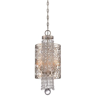Bel Florentine 4-Light Mini Foyer Pendant