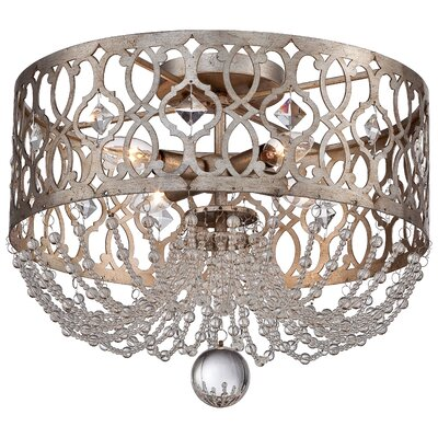 Bel Florentine 4-Light Flush Mount