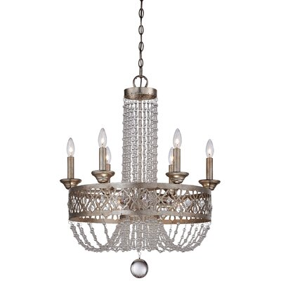 Bel Florentine 9-Light Crystal Chandelier