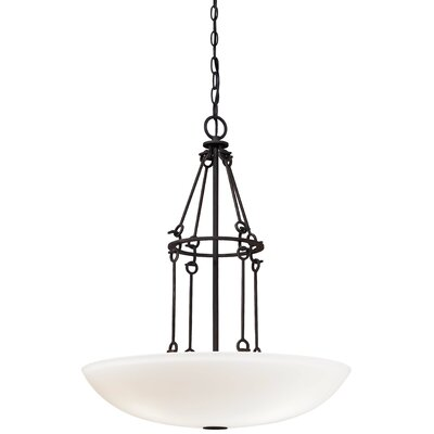 Kingsgate Kona 3-Light Bowl Pendant