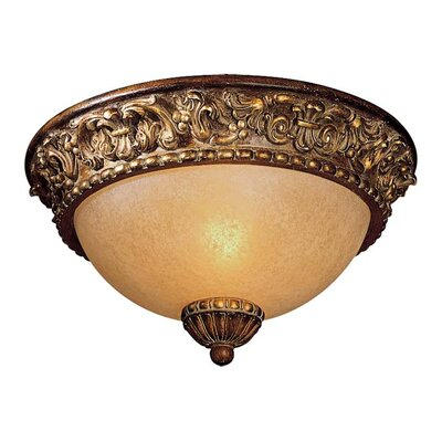 Belcaro Light Flush Mount Size: 6.25 H x 11.5 Diameter