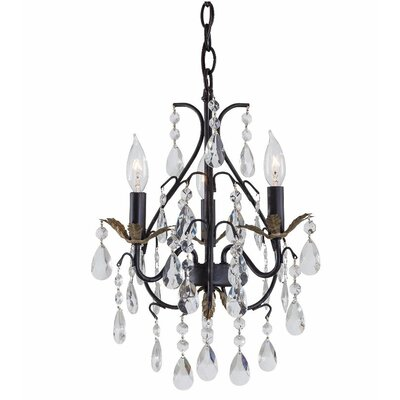 Huard 3-Light Candle-Style Chandelier