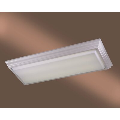 Alvina Rectangle Kitchen Strip Light Finish: White Finish