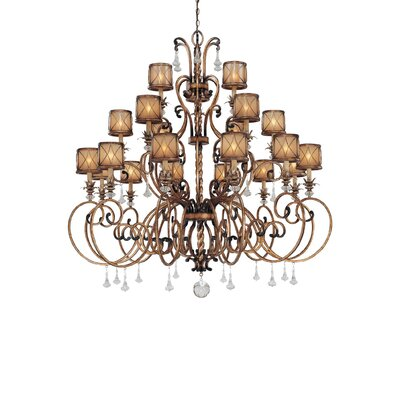 Mcmillian 21-Light Drum Chandelier