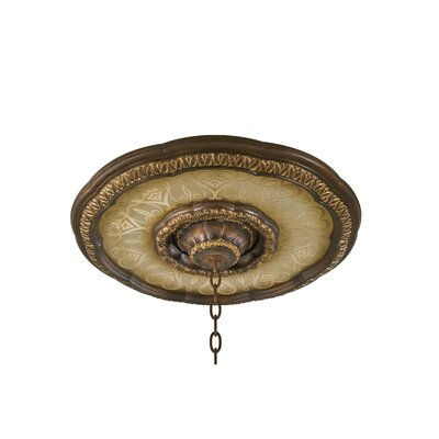 Dee Ceiling Medallion Base in Bronze