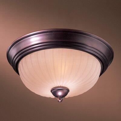 1730 Series 2-Light Flush Mount 1730-167