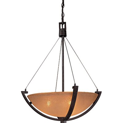 Raiden 3-Light Foyer Inverted Pendant