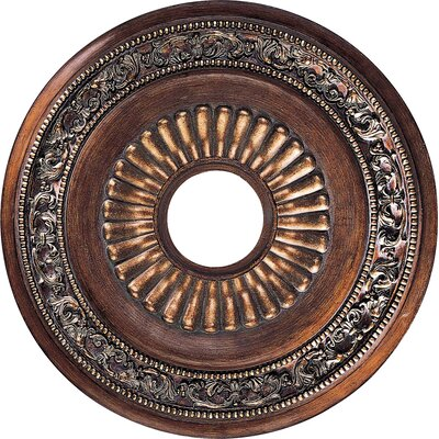 Belcaro Ceiling Medallion in Belcaro Walnut