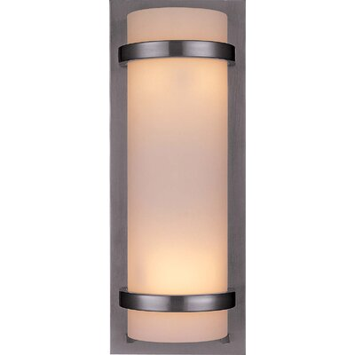 Quoizel Tritan Bathroom Wall Sconce in Brushed Nickel | Wayfair