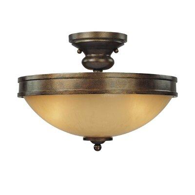 Atterbury 3-Light Semi Flush Mount