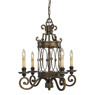 Atterbury 4-Light Candle-Style Chandelier