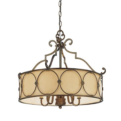 Atterbury 5-Light Drum Chandelier