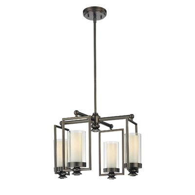Anissa 4-Light Mini Chandelier