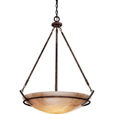 Calavera 5-Light Foyer Inverted Pendant