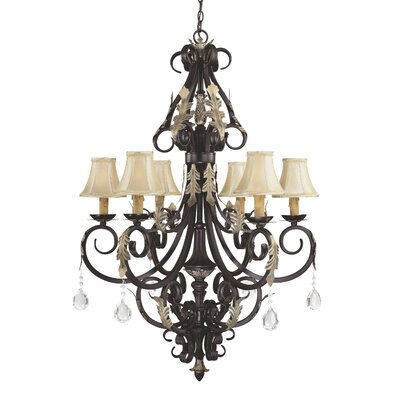 Bellasera 6-Light Shaded Chandelier