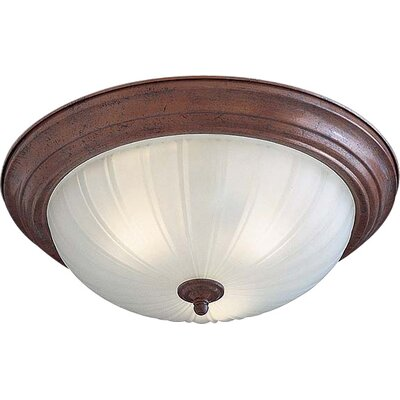 Flush Mount Size: 5.5 H x 13.5 W