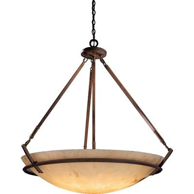 Calavera 8-Light Foyer Inverted Pendant