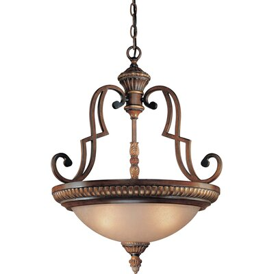 Belcaro 3-Light Inverted Pendant