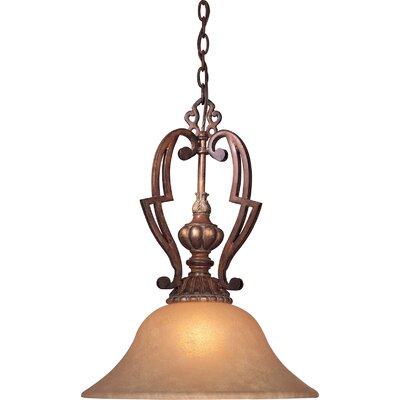 Belcaro 1-Light Nook Mini Inverted Pendant