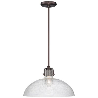 1-Light Pendant Finish: Dark Brushed Bronze