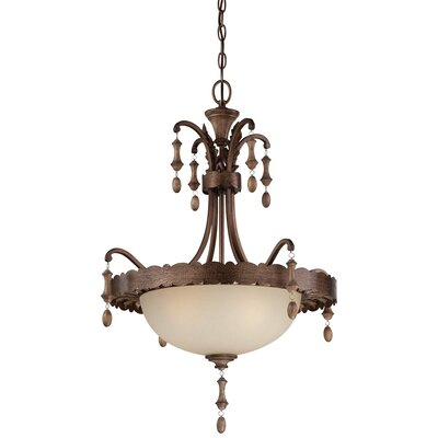Candlewood 3-Light Bowl Pendant