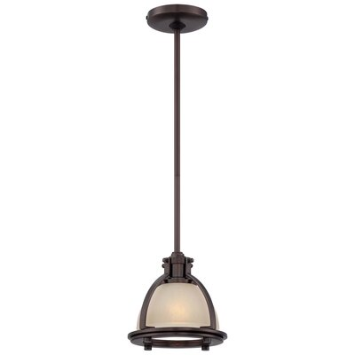 1-Light Mini Pendant Finish: Harvard Court Bronze