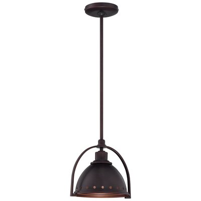 1-Light Mini Pendant Finish: Brushed Bronze