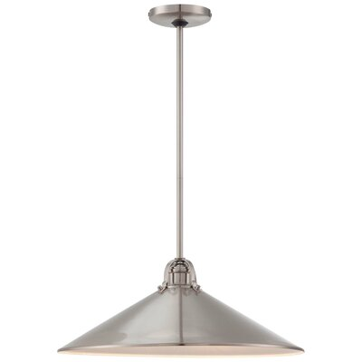 3-Light Pendant Finish: Brushed Nickel