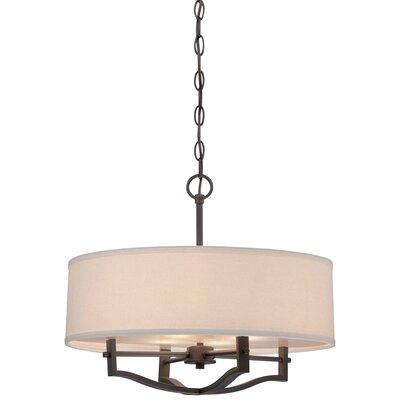 Gervais 3-Light Drum Chandelier