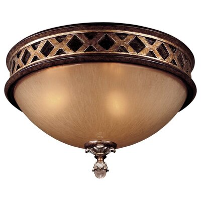 Mcmillian 2-Light Flush Mount