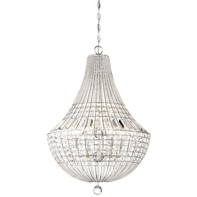 Needham Market 9-Light Crystal Chandelier