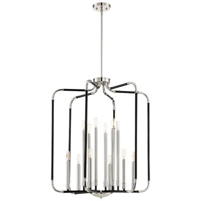 Karst 12-Light Candle-Style Chandelier