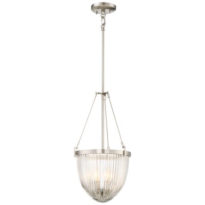 Barbosa 3-Light Bowl Pendant