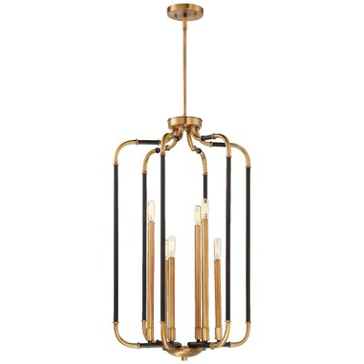 Karst 6-Light Foyer Pendant Finish: Aged Kinston Bronze/Brass