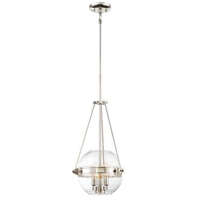 Karle 3-Light Globe Pendant Size: 20 H x 12 W x 12 D