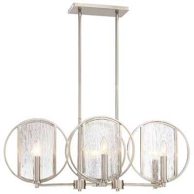 Cayeman 6-Light Kitchen Island Pendant