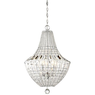 Needham Market 5-Light Crystal Chandelier