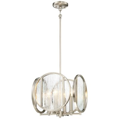 Cayeman Modern 4-Light Geometric Pendant